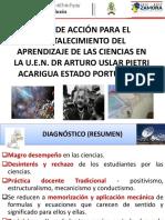 Uen Dr Arturo Uslar Pietri Plan de Acción Para El Fortalecimiento de La Ciencia