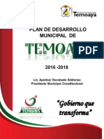 1. Plan de Desarrollo Municipal Temoaya 2016-2018 1 (1)
