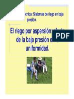 Riego por aspérsion y la baja presion en la uniformidad de riego.pdf