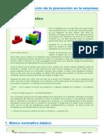 FOL05- Planificación de La Prevención en La Empresa