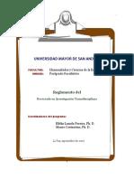 Reglamento Del Doctorado (1)