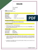 Panah Driver CV.doc