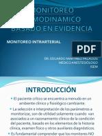 Clase Monitoreo Hemod Línea Arterial