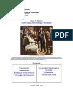 Guía de Estudio Universidad, Odontología y Sociedad (1)