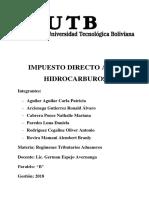 Impuesto Directo a Los Hidrocarburos