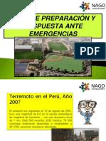 Plan de Preparación y Respuesta Ante Emergencias