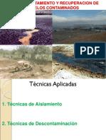 TEMA 11 Curso de Conservacion de Suelos - Recuperacion de Suelos Contaminados