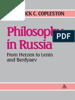 Frederick Charles Copleston-Philosophy in Russia_ From Herzen to Lenin and Berdyaev-University of Notre Dame Press (1986)