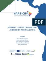 Sistemas Legales y Pluralismo Ju