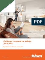 Catálogo y Manual de Trabajo 2013 - 2014 - BLUM
