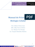 Manual de Prácticas Biología Celular