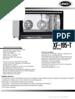 Horno Unox Xf 195 t1
