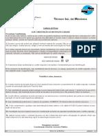 2013 IBEG Tecnico-Ind-em-Mecanica Prova Objetiva