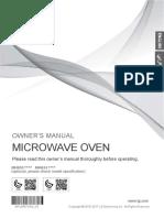 Manual Microwave