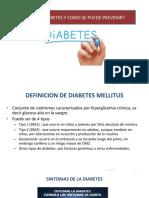 Que Es La Diabetes y Como Se Previene
