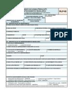 Anexo II - Requerimento de Licença Prévia - Empreendimentos Imobiliários - RLP-EI