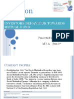Ppt on Mutual Funds
