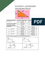 Ejercicios Basicos de Trigonometria