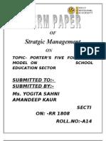 Strategic Term Paper 2