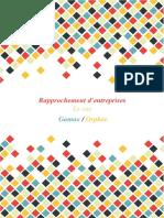 Rapprochement d'Entreprises - Le Cas Gamax_Orphée
