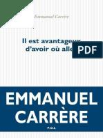 Emmanuel Carr Re - Il Est Avantageux d Avoir o Al