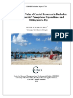 Schuhmann 2007 Economic Valuation of Coastal Resources Study Barbados CTR 50