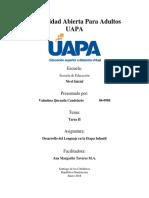 Desarrollo Del Lenguaje en La Etapa Infantil - Tarea II