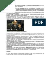 Planalto Aguarda Denúncia Contra Cunha, Que Promete Retaliação
