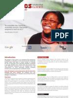 2010 ACS Leadership Summit - Evaluation Report