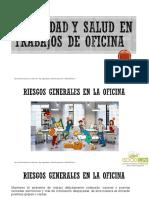Seguridad y Salud en Trabajos de Oficina