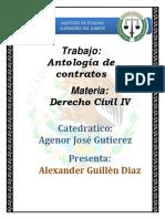 Antolog a de Contratos - Obet Alexander Guill n D Az