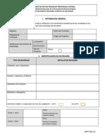 Formato Notificación Novedades Ambiente