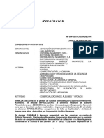 Nº 034-2007/CCD-INDECOPI | EXPEDIENTE N° 045-1998/CCD