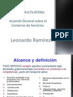 Acuerdo General Comercio de Servicios
