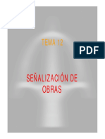 T-12 Señalización de Obra