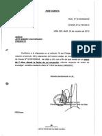 Causa 2012- Orden de Investigar