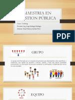Grupo vs Equipo, Sheril Patricia Arevalo Pezo, Mgp