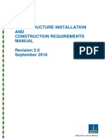 20161108 - Infrastructure Installation and Construction Requirements Manual