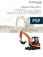 Kubota KX101 3α4 IT