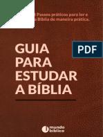 Guia Para Estudar a Bíblia