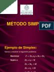 Metodo Simplex I