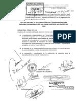 Congresista Israel Lazo -Ley Que Declara de Necesidad Pública y Prioritario Interés Nacional La Construcción Del Canal Logístico Del Centro Del Perú
