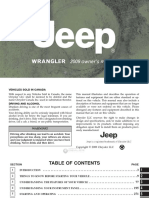2009 Jeep Wrangler Manual