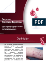Presentacion Purpura Trombocitopenica