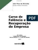 Curso Falencia Recuperacao Almeida 28.Ed