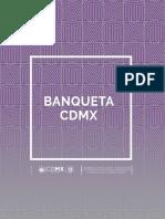 El Diseño de Banquetas en La CDMX - Lineamientos Para El Diseño y Construcción