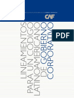 Lineamientos Codigo Andino de Gob Corp