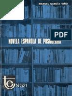 Novela de la posguerra