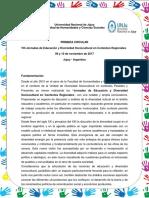 CIRCULAR VIII Jornadas Educacion y Diversidad1