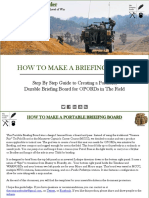 How to Make a Briefing Board 1